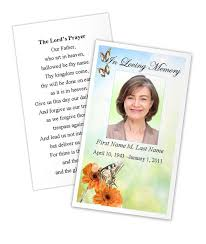 Memorial Card Template Prayer Card Butterfly Memorial Cards Template Planet Surveyor Com