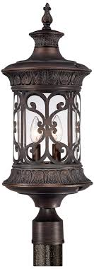 john timberland 24 1 2 high bronze outdoor post light 55downingstreet com