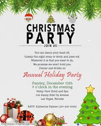 Party Rsvp Template Christmas Invitation Template And Wording Ideas Christmas