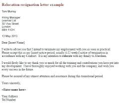 Cover Letter Example Relocation Cover Letter Relocation Relocation Cover Letter Relocation Notice