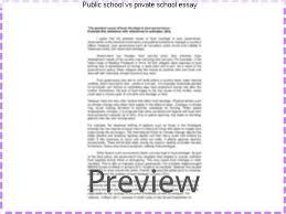 private schools vs public schools essay public school vs private school essay coursework writing service
