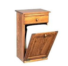 double wooden trash bin trash bin cabinet tilt out trash bin kitchen trash cabinet trash can