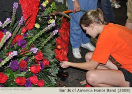 Rose Bowl Float Decorating Bands of America Honor Band Photos Rose Parade Float Decorating 26