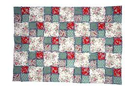 Easy Double Four Patch Rag Quilt Pattern &  Adamdwight.com