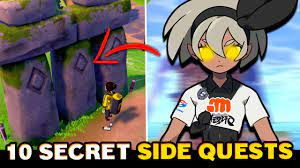 10 SECRET & HIDDEN Side Quests in Pokemon Sword and Shield You Should Do -  YouTube
