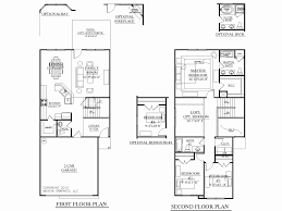 two story house plans with first floor master bedroom new houseplans biz