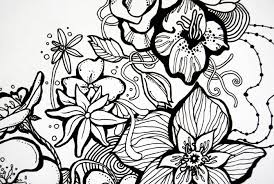 Spring Coloring Pages Pdf The Color Panda