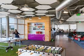 office game room. Go Daddy Game Room By DES Architects + Engineers Office