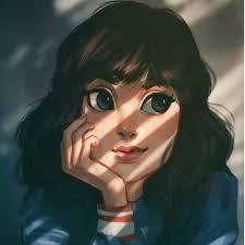 imagen descubierto por Jamilin Rosyidah. Descubre (¡y guarda!) tus propias  imágenes y videos en We … | Cartoon girl drawing, Digital portrait art,  Girls cartoon art