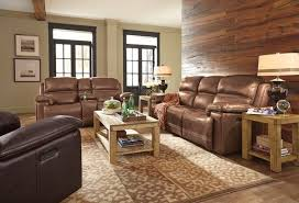Flexsteel Fenwick Leather Power Reclining Sofa | Homemakers Furniture