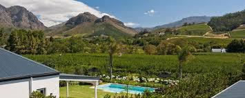 la clé de monnes franschhoek south africa
