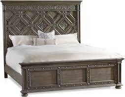 Hooker Furniture Bedroom Vintage West California King Wood Panel Bed ...