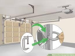 image titled fix a garage door spring step 1