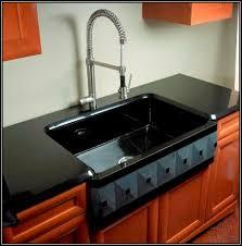 black ceramic kitchen sinks fivhter com