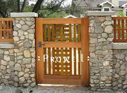 wooden garden gate garden gates