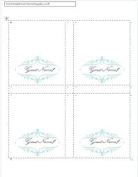Place Cards Template For Word Wedding Table Name Cards Template Zbiztro Com