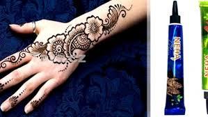 Henna Přírodní Tetovací Barva Na Tělo Tetování Je Sleva 48