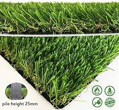 fake grass rug. Artifical Grass Rug Drainage Holes Rubber Backing Realistic Synthetic Fake Mat For Indoor Outdoor Garden S