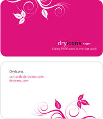 Dryicons Business Card Template Free Images At Clkercom Vector
