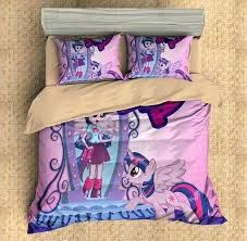 customize my little pony bedding set duvet cover bedroom three lemons bed cot