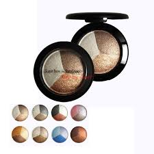 baked eye shadow 3 professional colors matte eyeshadow makeup in a eye shadow palette sugar box for eye studio aliexpress mobile