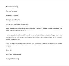 2 Week Notice Letter For Work 2 Week Notice Letter Template Template Business