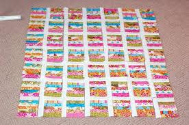 Make a Honey Bun Quilt Top & honeybun quilt Adamdwight.com