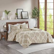 madison park nollie 3 piece taupe full