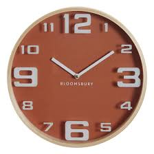 30cm diameter retro wall clock in