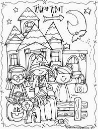 Coloriage Halloween Coloriages Pour Les Enfants Pinterest