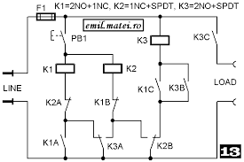 wiring diagrams for latching relays wiring diagram and schematic on off output using two momentary negative pulses