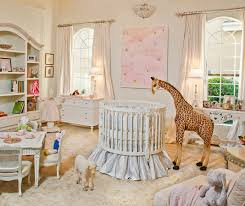 Furniture. Traditioinal Nursery Furniture Design Come With White Baby Crib  With Rustic Wood Array And