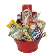 small night gift basket