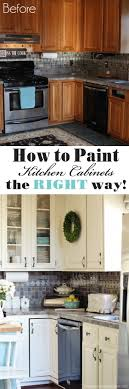 White Kitchen Cabinet Makeover Top 25 Best Painted Kitchen Cabinets Ideas On Pinterest