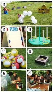 homemade outdoor games for kids. DIY Outdoor Games For Kids Homemade
