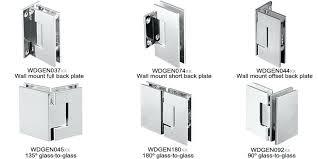 shower door hinges amazing glass door hinges do it yourself for hinges for glass doors shower