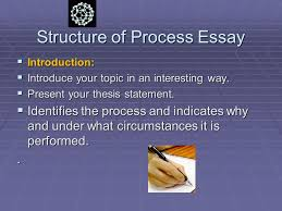 the process essay third lecture what is a process  a process
