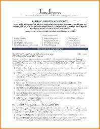 11 Marketing Resume G Unitrecors