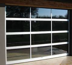 aluminum glass garage door cost