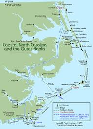 Nc Usa Coastal Guide Map Maps And Charts Cartine