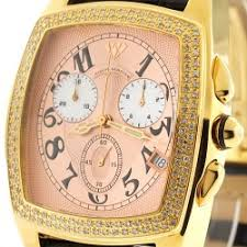 buy mens diamond watches wrist watch for men mens diamond watch aqua master square 1 50 ct yellow gold