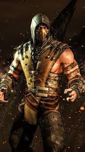 mortal kombat x scorpion fighting ps4 xbox one vertical