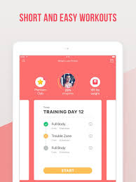 weight loss fitness by verv on the app