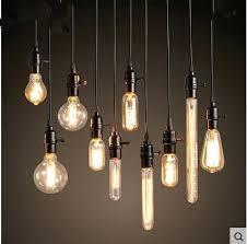 light bulb chandelier loft retro light bulb chandelier light bar clothing industrial lamp coffee restaurant light bulb chandelier