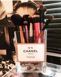 cover jewerly chanel gl make up brush holder