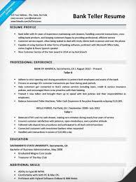 Teller Resume Sample Luxury Resume Examples For Teller Position Bank