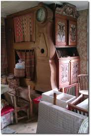 traditional scandinavian furniture. traditional beds in the kitchen of an old swedish farm house scandinavian furniture e