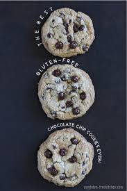 Making this yummy treat is extra simple too. The Best Chewy Gluten Free Chocolate Chip Cookies