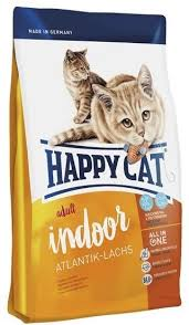 Сухой корм <b>Happy Cat Adult</b> Indoor Atlantik-Lachs с ...
