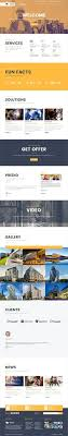Modern Website Templates Fascinating MiniFox One Page MultiPurpose PSD Template If You Like UX